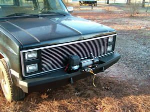 Custom Winch Bumper for Chevy GMC Trucks 1973 1987