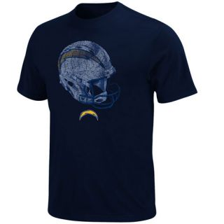 San Diego Chargers Rival Vision Short Slv T Shirt L