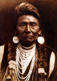 Chief Joseph Edward Curtis Native American Indian Art