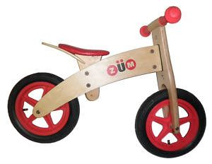 Zum Wooden Balance Push Bike New Childrens Kids