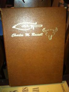 CMR Charles M Russell Book Willard Salisbury Signed