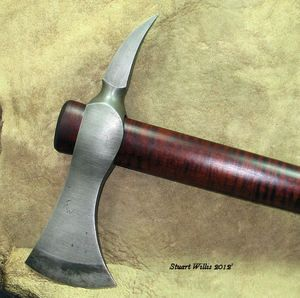 Blacksmith Custom Forged Tomahawk Trade Axe Hatchet