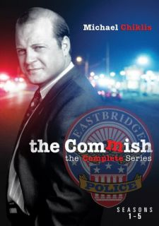 The Commish Complete Series Season 1 2 3 4 5 New 17 DVD