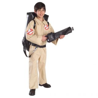 Ghostbuster Child Boys Halloween Costume, Large