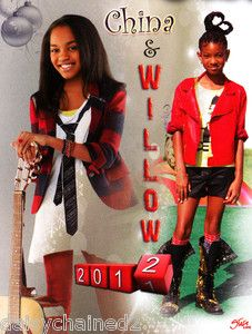 Willow Smith China Anne McClain 2012 New 24x16 inch Poster