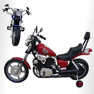 Kids Battery Powered Harley Ride on Motorcycle Toy Bike Red Harley for