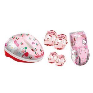Mondo Hello Kitty Cherry Childrens Bike Helmet Medium 52 56cm