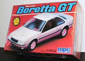 Chevrolet Beretta GT 1 25scale MPC vintage RARE sealed model car kit