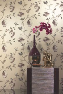 Feature Wall Designer Wallpaper China Garden Gold 96363