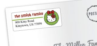 Return Address Labels 5160 Holiday Christmas Ready to Print