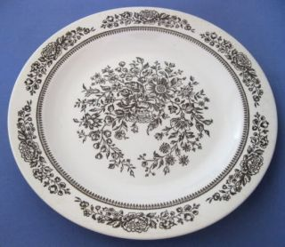 VTG Royal China Jeannette Sussex Platter Chop Plate Platter