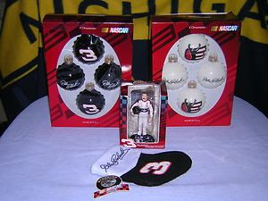 Dale Earnhardt Sr. NASCAR Christmas Collectible / Ornament Lot
