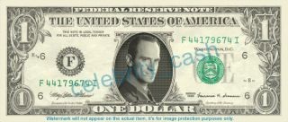 Christopher Meloni Dollar Bill   Mint Law & Order SVU
