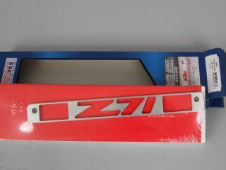 Billet 3rd Brake Light Cover Brushed Z71 C K Pickup