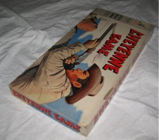 cheyenne tv show board game 1958 clint walker cowboy