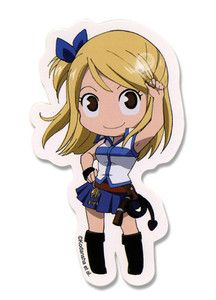 Sticker Fairy Tail New Lucy SD Chibi Toys Gifts Anime Cosplay Licensed