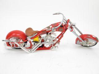 Joyride Toy Model Orange County Choppers Fire Bike Firefighter