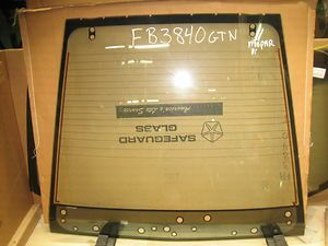 Chrysler Conquest 2D Coupe Mitsubishi Starion 1989 Backglass Mopar OE