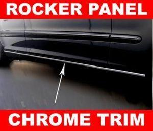chrysler PT CRUISER PACIFICA Chrome ROCKER PANEL TRIM MOLDING