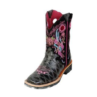 Western Boots Girls Showbaby Rocker Childrens Black 10007985