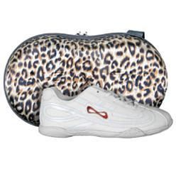 Nfinity Panther Cheerleading Shoes Size 14 w Case New