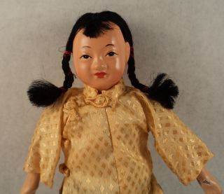 Handmade Vtg Chinese Michael Lee Micale Character Composition Doll