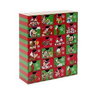 Dsney Mickey Mouse Christmas Advent Calendar BNWT