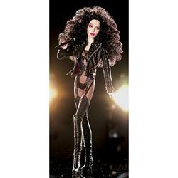 CHER BARBIE TURN BACK TIME DOLL BLACK LABEL BOB MACKIE FRESH FROM SHIP