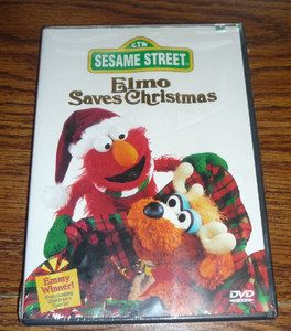 Sesame Street Elmo Saves Christmas DVD – Brand New 074644994094
