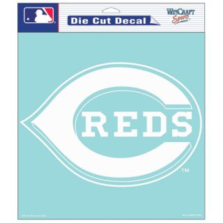 Cincinnati Reds Primary Logo Die Cut Car Sticker MLB Decal 8 x 8