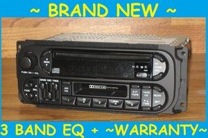 2001 Jeep Grand Cherokee Infinity CD Cassette Tape Radio Stereo