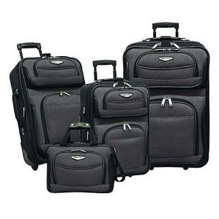 Travelers Choice Amsterdam 4 Piece Set Gray
