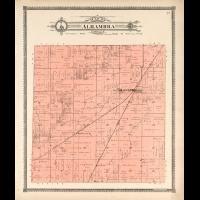 1906 Madison County Plat Map Illinois Old Genealogy History Atlas Land