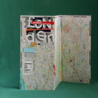 Map Laminated London City Good Selling Olympic Park Tube Street Index