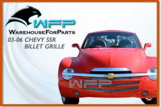 03 06 Chevy SSR Bolton Billet Grille Grill Insert 3pc