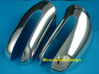 Chrome Mirror Covers for 1998 06 Mercedes W220 s Class