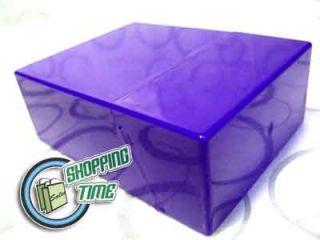 Cigarette Tobacco Hard Plastic Storage Case Pocket Box Blue Black Red