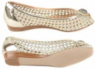 Arturo Chiang Cleo Women Leather Dress Wedge Heel Sandal Peep Toe Shoe