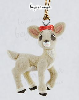 Clarice (Flocked) ornament from the Rankin/Bass movie Rudolph the Red