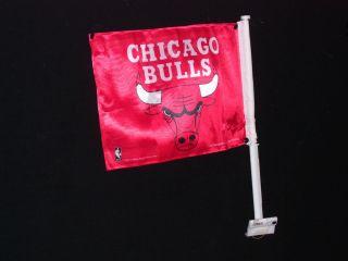 Chicago Bulls Window Car Truck Flag Wall Mount Banner pole jcax