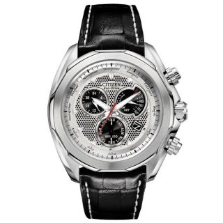 Citizen Signature Series Stainless Steel World Time Chronograph BL8070