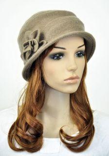 J29M Cute Flower Winter Wool Fashion Lady Women Hat Beanie Ski Cap