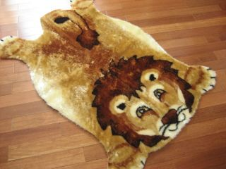 Childrens Lion Jungle Nursery Rug Play Mat 3x5 New