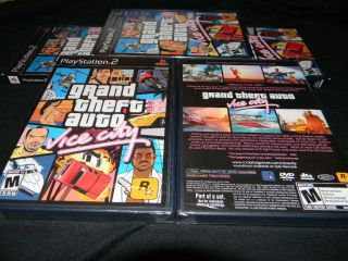 Grand Theft Auto Vice City PS2 GAME BRAND NEW FACTORY SEALED IN STOCK