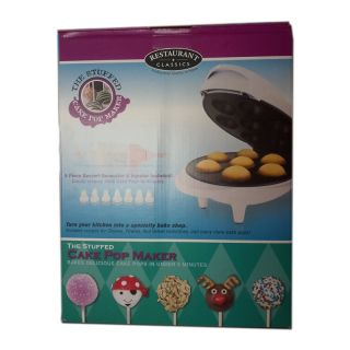 The Stuffed Cake Pop Maker Restaurant Classics w Injector