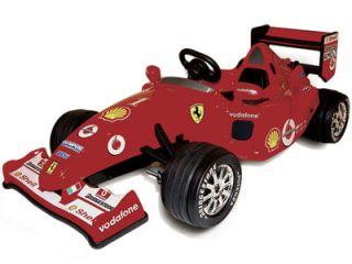 FERRARI BATTERY OPERATED ELECTRIC POWERED RIDE ON SPORTS RACE CAR TOY