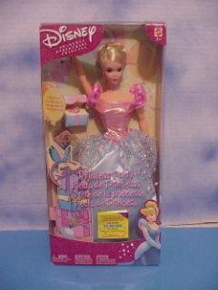 2002 Mattel Disney Cinderella Princess Party, never removed from the