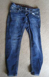 Rock Revival Womans Jeans Size 31 Morgan Straight