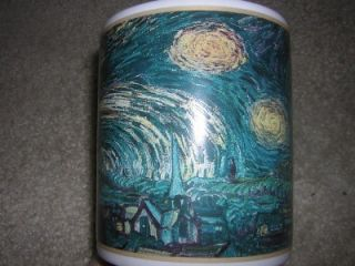 Vincent Van Gogh Starry Night Cafe Arts 12 oz Coffee Mug V. Clean