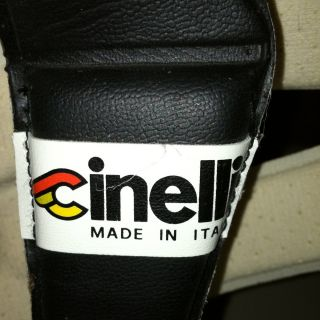 Vintage Cinelli Bicycle Helmet Hairnet Made In Italy Perfect